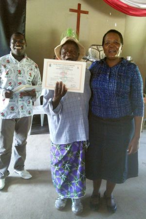 certificate for caregiver